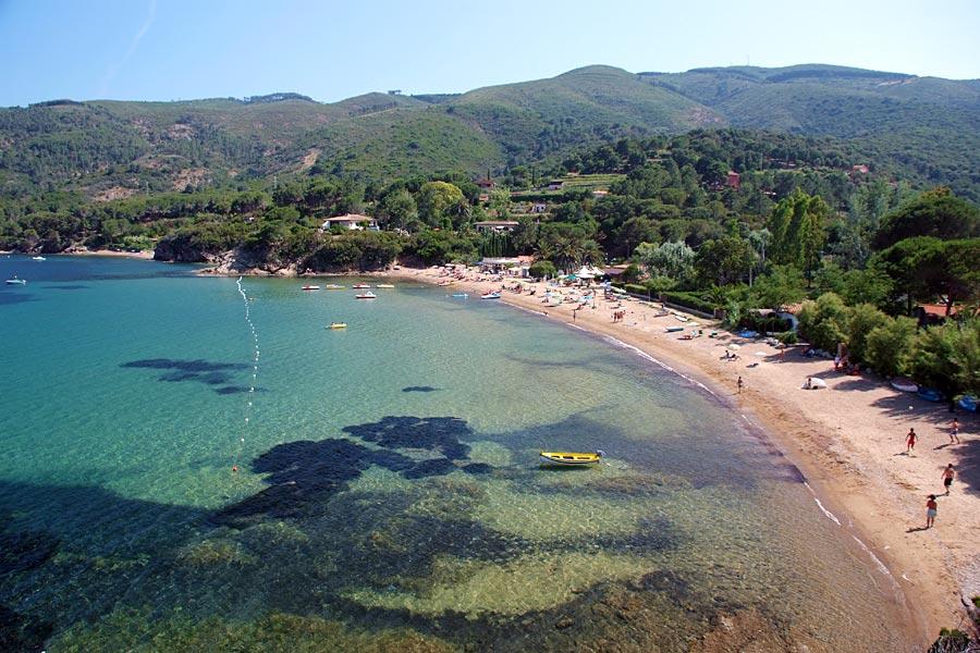 Spiaggia di Straccoligno, Elba