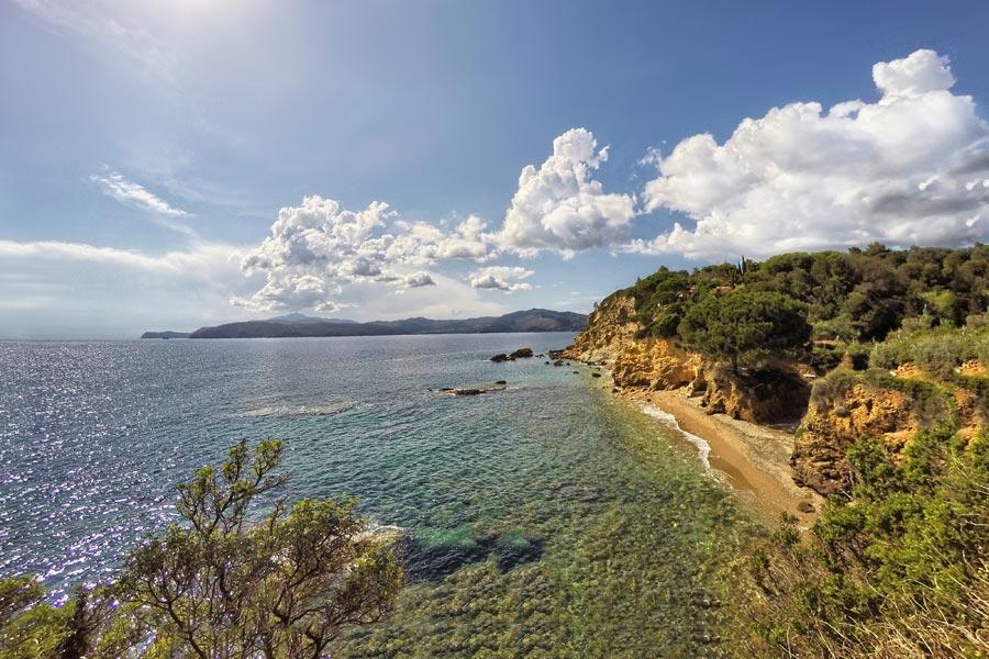 Spiaggia dei Peducelli, Elba